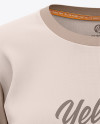 Women's Relaxed Fit Crewneck T-shirt Mockup - Front View