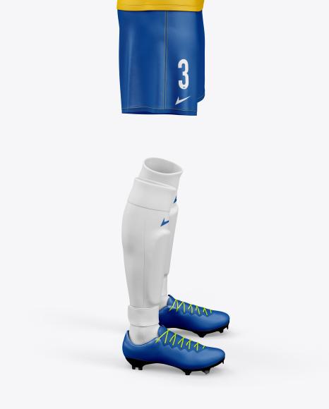 Women`s Full Soccer Kit Mockup