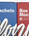 Two Closed Boxes w/ Sachets Mockup
