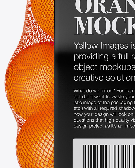 Download Food Delivery Backpack Mockup Free Yellow Images