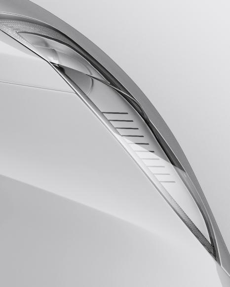 Tesla Model S Mockup - Top View
