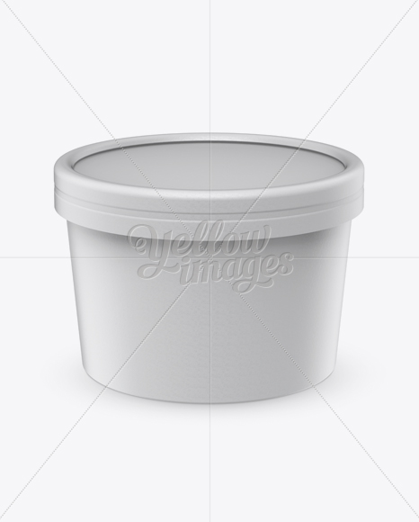 Download Ice Cream Cup Mockup Front View High Angle Shot In Cup Bowl Mockups On Yellow Images Object Mockups PSD Mockup Templates