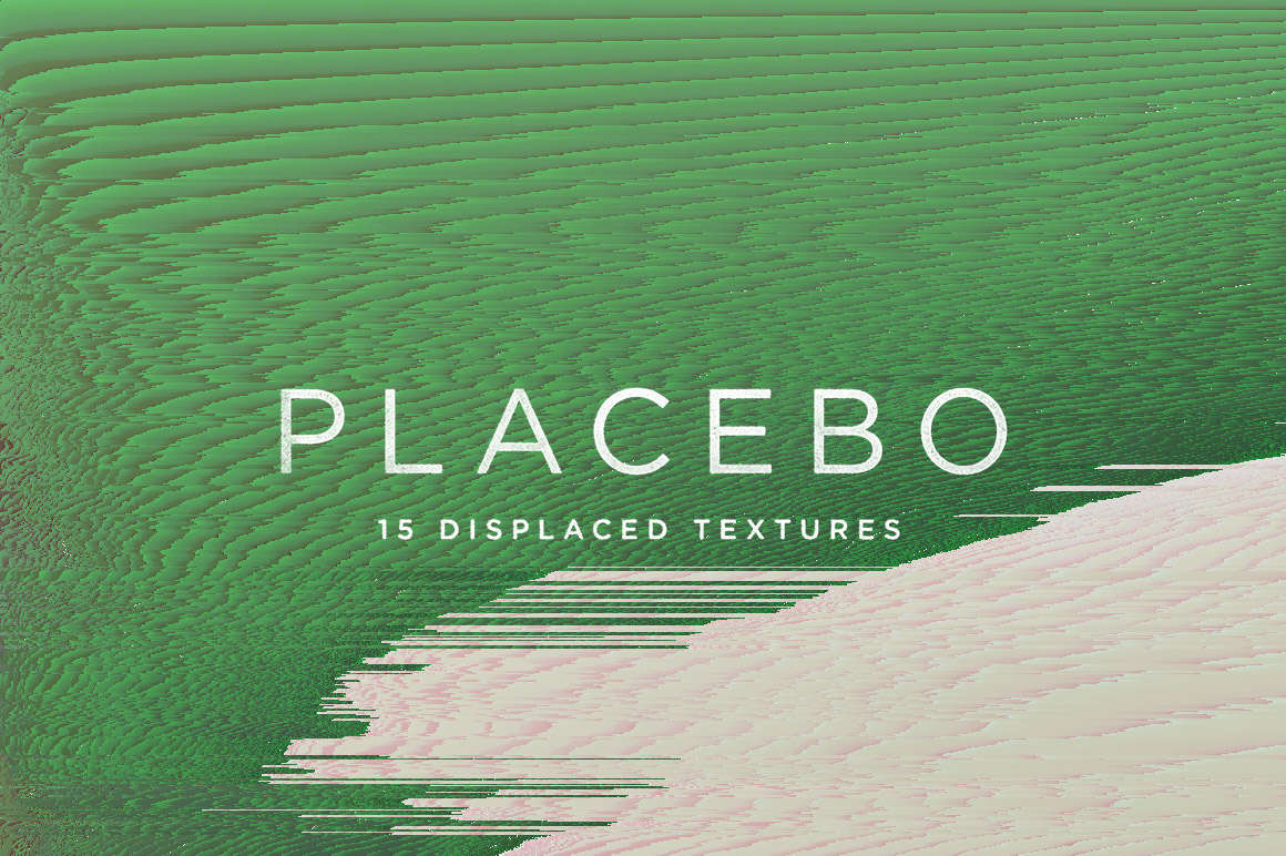 Placebo Abstract Glitch Textures