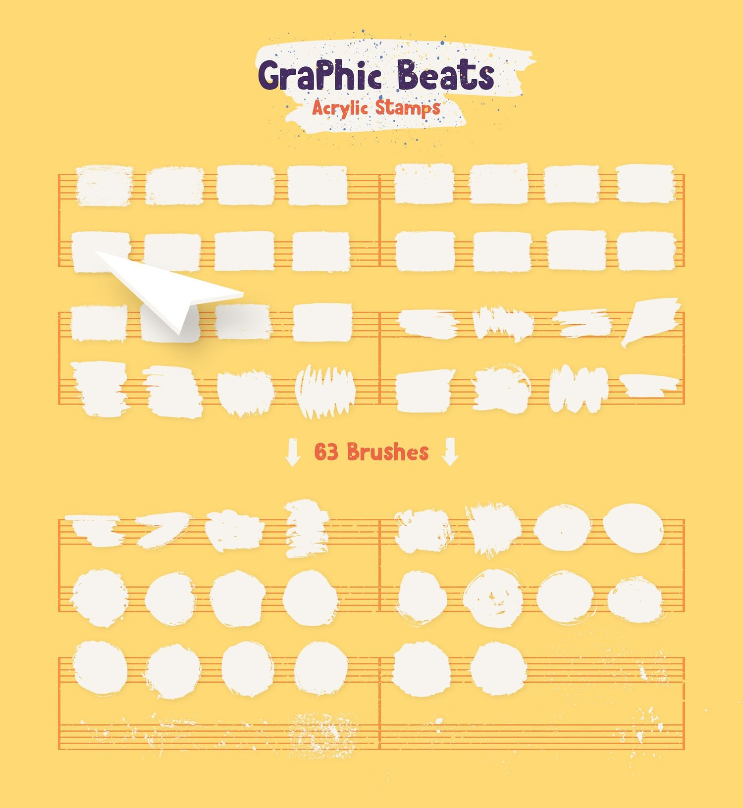 Graphic Beats: Brushes for Illustrator