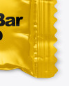 Glossy Mini Snack Bar Mockup