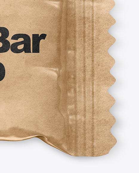 Kraft Mini Snack Bar Mockup