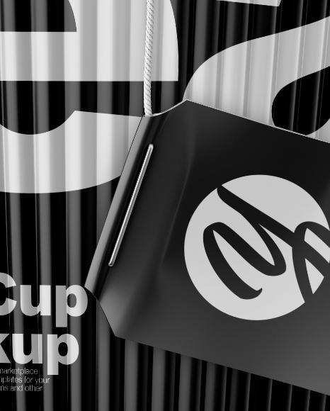 Matte Tea Cup Mockup