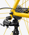 Road Bicycle Mockup - Halfside View