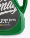 Glossy Plastic 2L Bottle Mockup