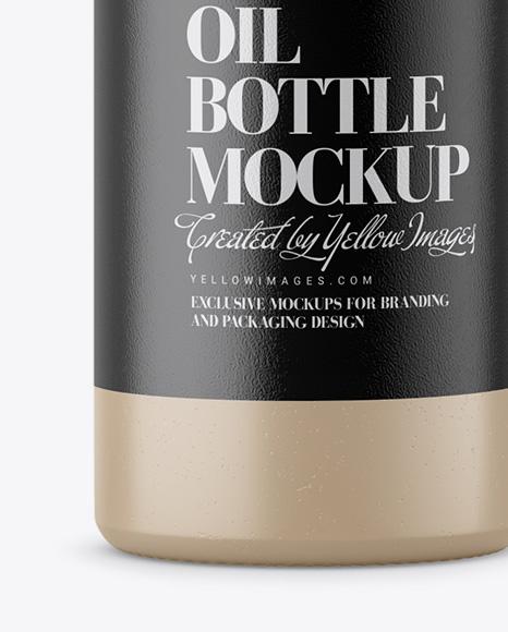 Ceramic Olive Oil Bottle Mockup
