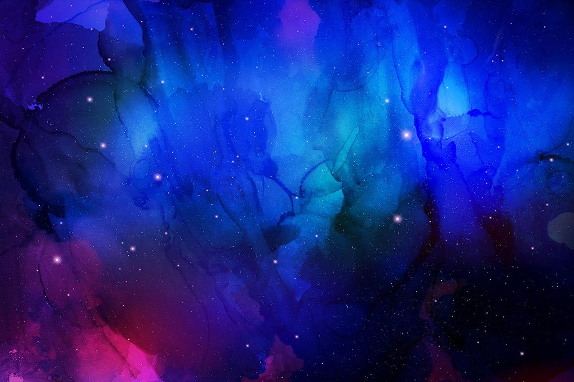 Nebula Ink Backgrounds
