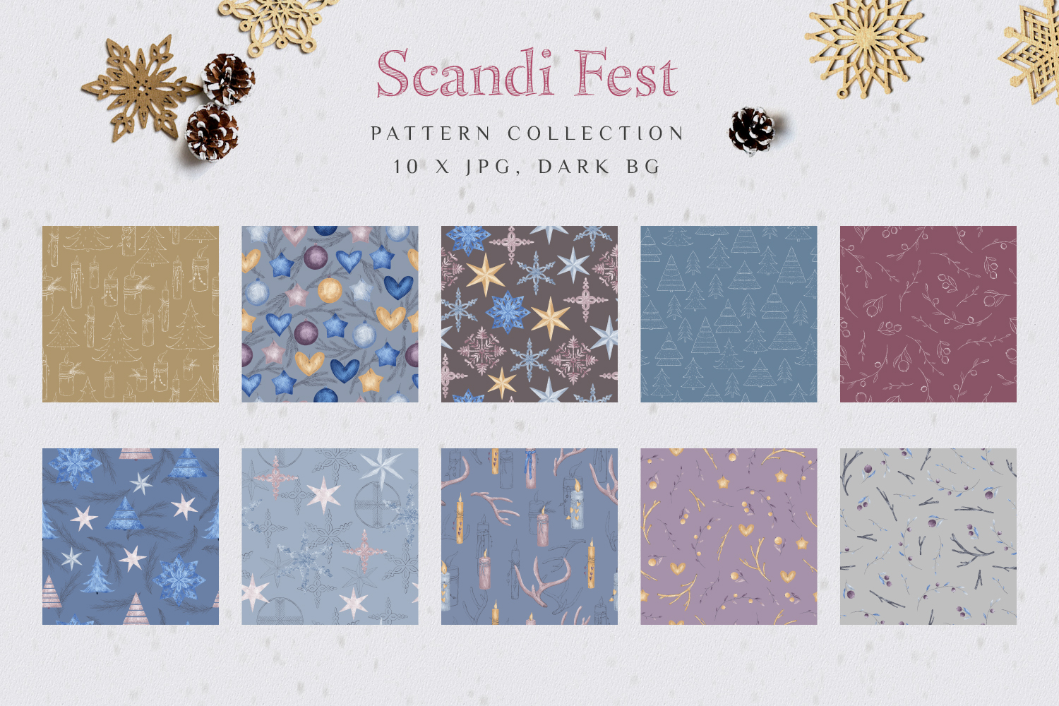 Scandi Fest - Patterns