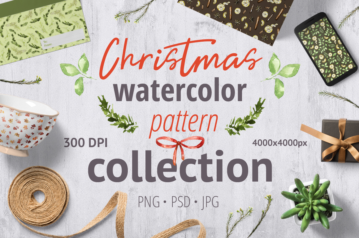 Christmas pattern collection