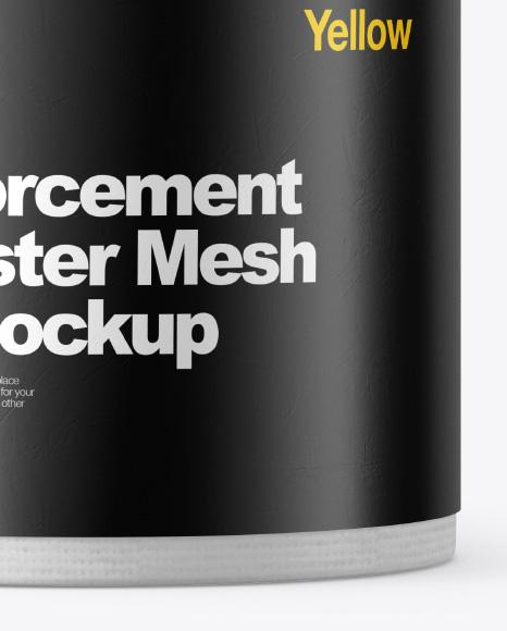 Reinforcement Polyester Mesh Roll Mockup