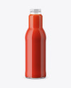 Tomato Juice Bottle Mockup