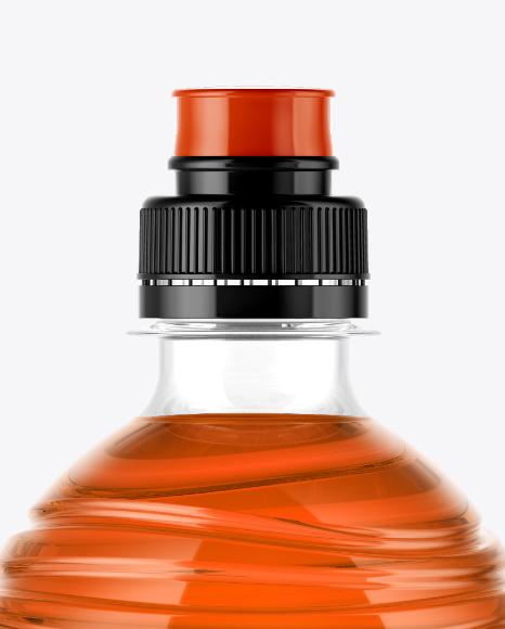 PET Drink Bottle Mockup