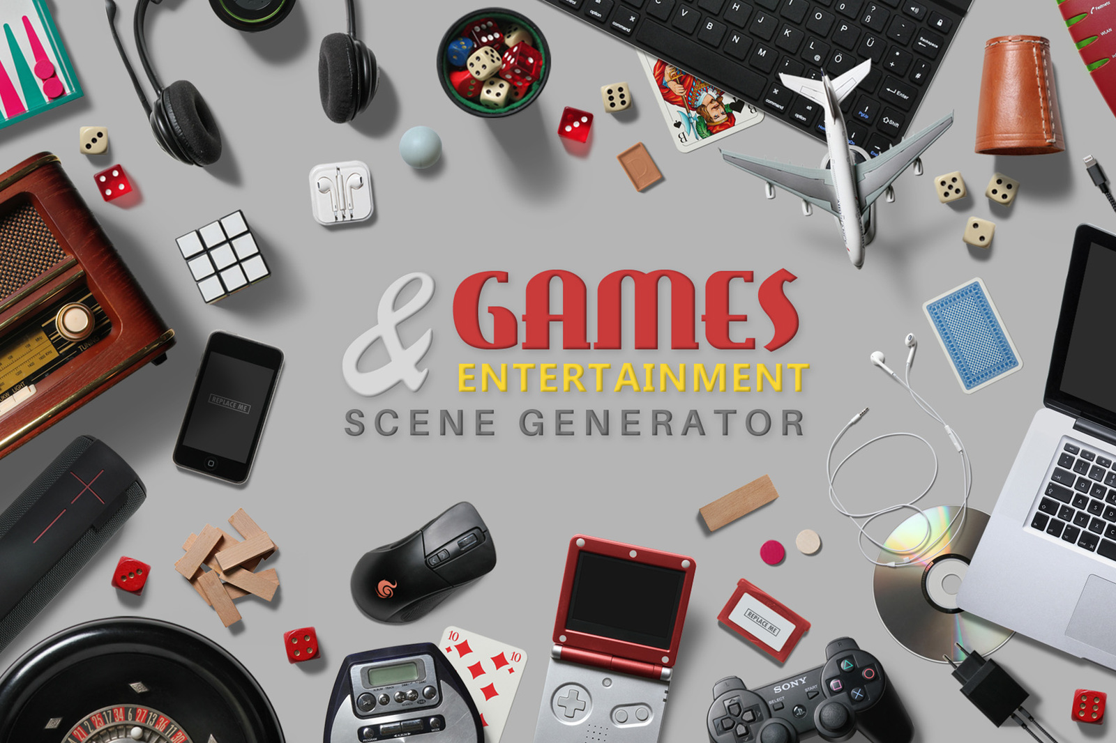 Games & Entertainment Scene Creator