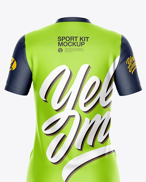 Women`s Sport Kit - Back View