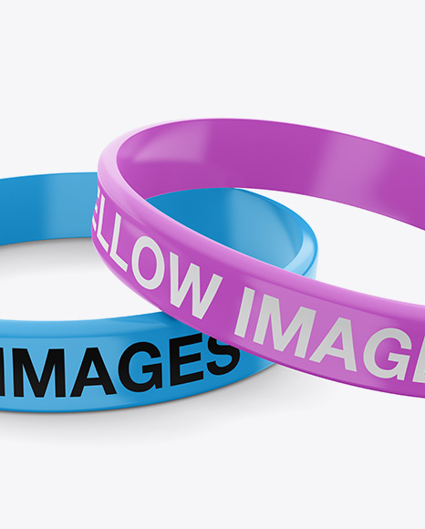 Download Rubber Wristband Mockup Yellowimages