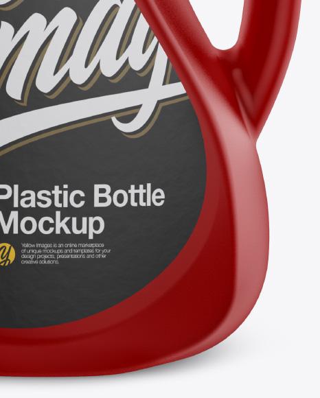 Plastic 2L Bottle Mockup