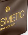 Leather Cosmetic Bag Mockup