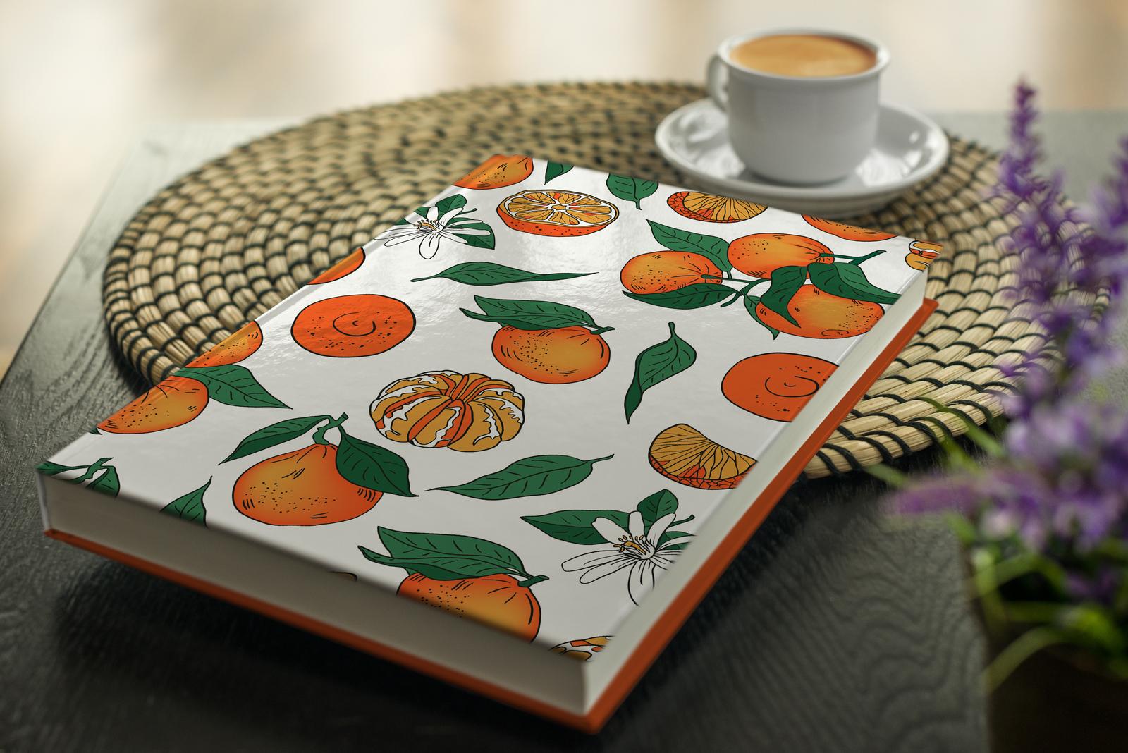 Orange Mood Pattern