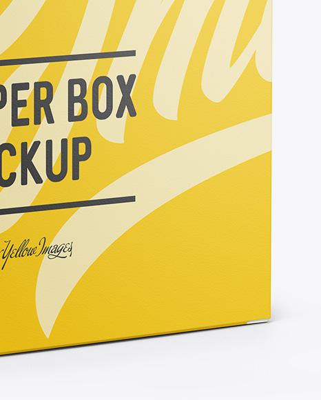 Matte Box Mockup - Half Side View