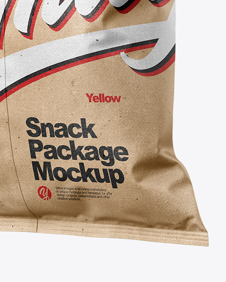 Kraft Snack Package Mockup