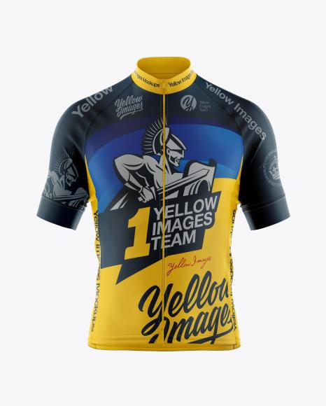 Cycling Jersey Mockup