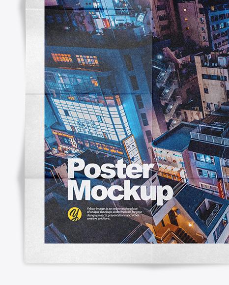 Kraft Poster Mockup