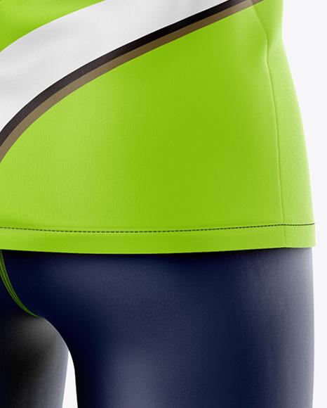 Women`s Sport Kit - Back Half Side View