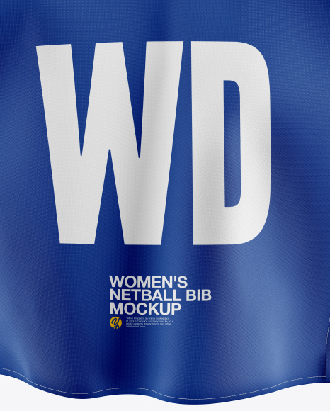 Women's Netball Bib Mockup