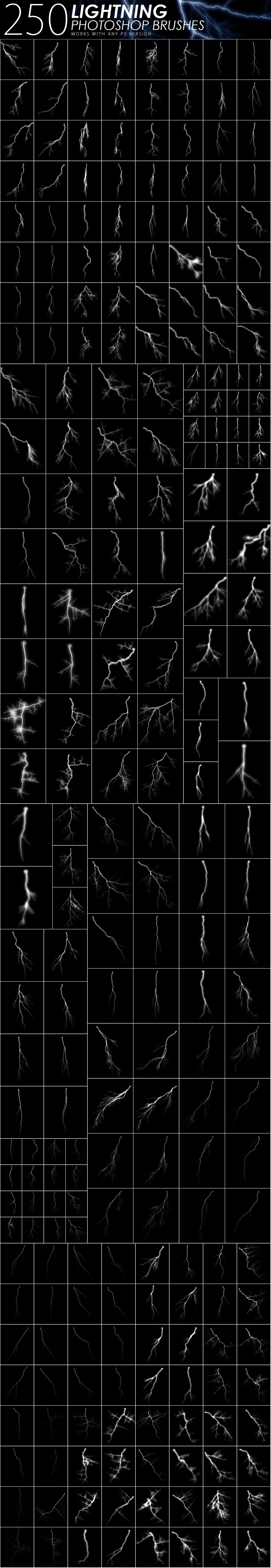 1505 Visual Effect Photoshop Brushes