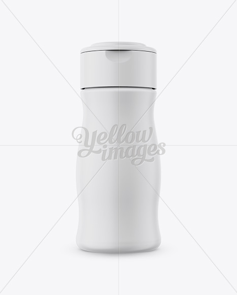 Download Glass Bottle In Matte Shrink Sleeve Mockup Front View PSD - Free PSD Mockup Templates