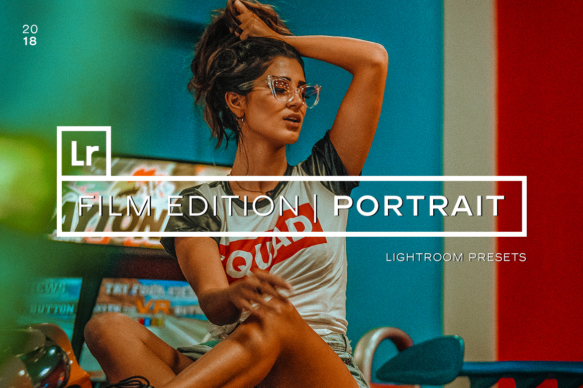 100+ Film Portrait Lightroom Presets