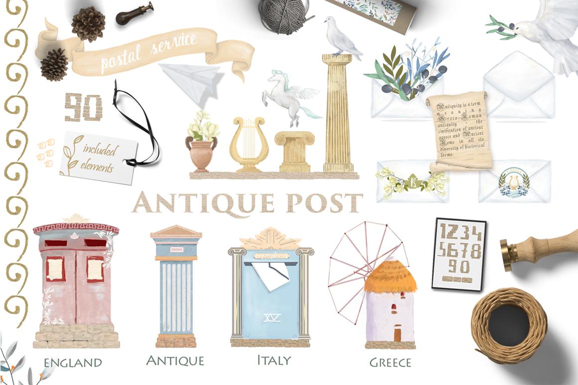 Antique Post