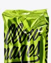 Metallic Food Bag Mockup