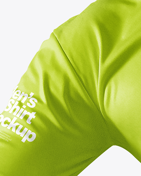 Men's Cotton T-Shirt Mockup