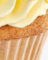 Cupcakes w/ Box Mockup