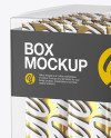 Box w/ 18 Sachets Mockup