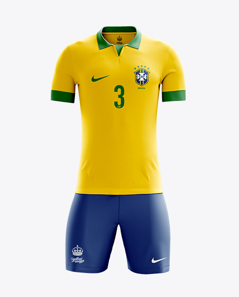 Full Soccer Kit Front View