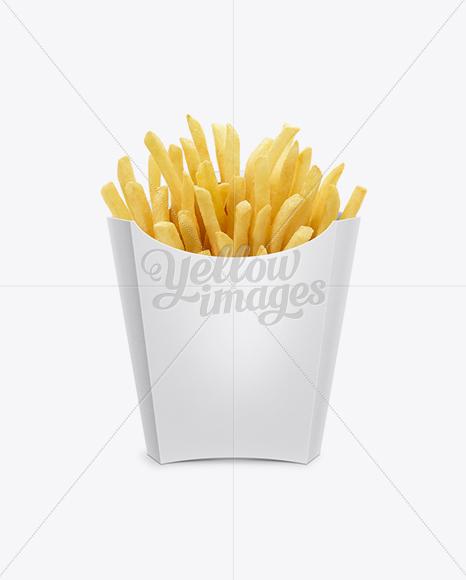 Paper French Fries Box - Medium size