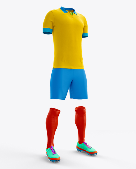 Full Soccer Kit Halfside View