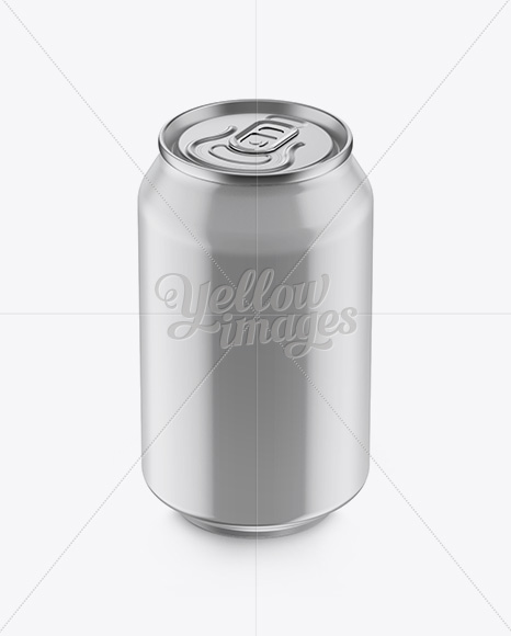 Download Two 330ml Metallic Aluminium Cans Mockup PSD - Free PSD Mockup Templates