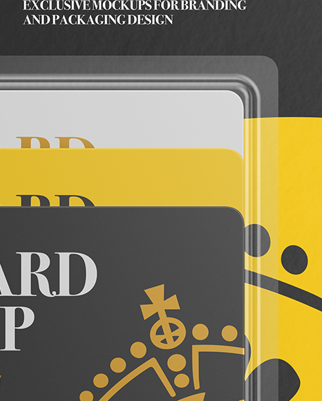 Gift Cards Pack Mockup