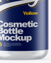 Clear Cosmetic Bottle Mockup
