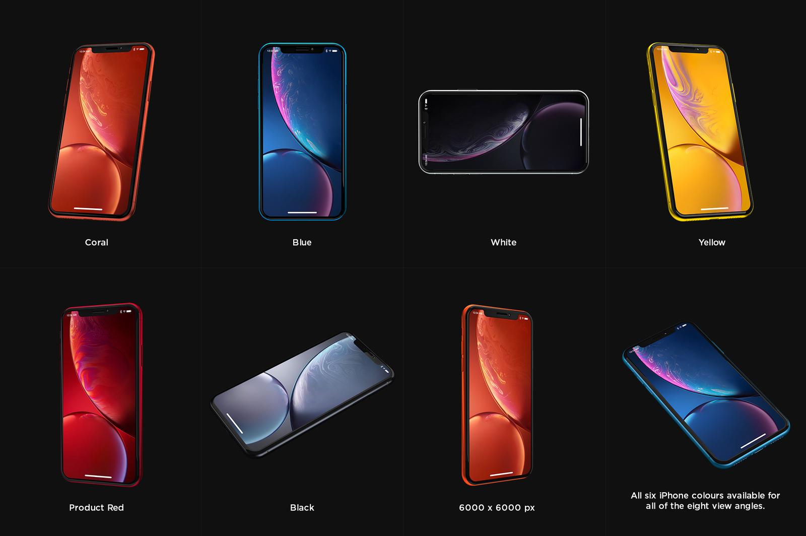 iPhone XR Design Mockup