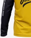 Men's Raglan Long Sleeve T-Shirt Mockup - Back View