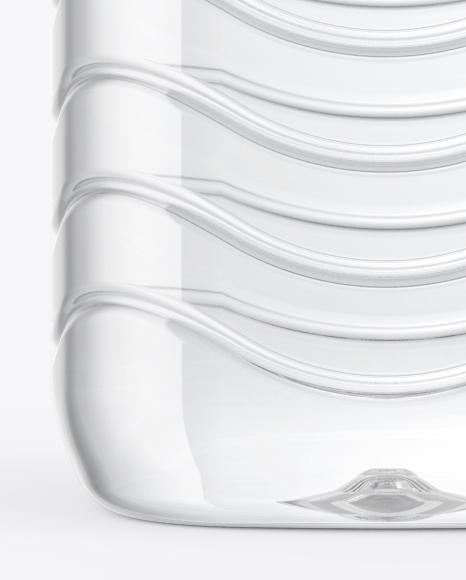 1L PET Water Bottle Mockup