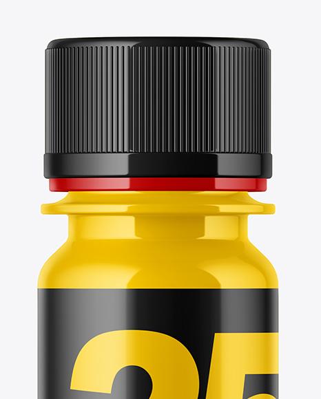 Glossy Sport Nutrition Bottle Mockup